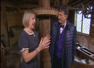 Bargain Hunt, Polly bagnall talks to Tim Wonnacot about Ferguson's Gang at Shalford Mill